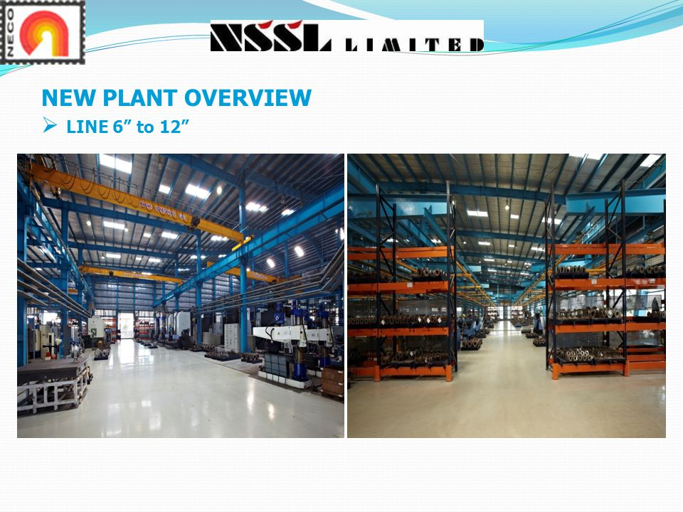 NEW PLANT OVERVIEW LINE 6 to 12