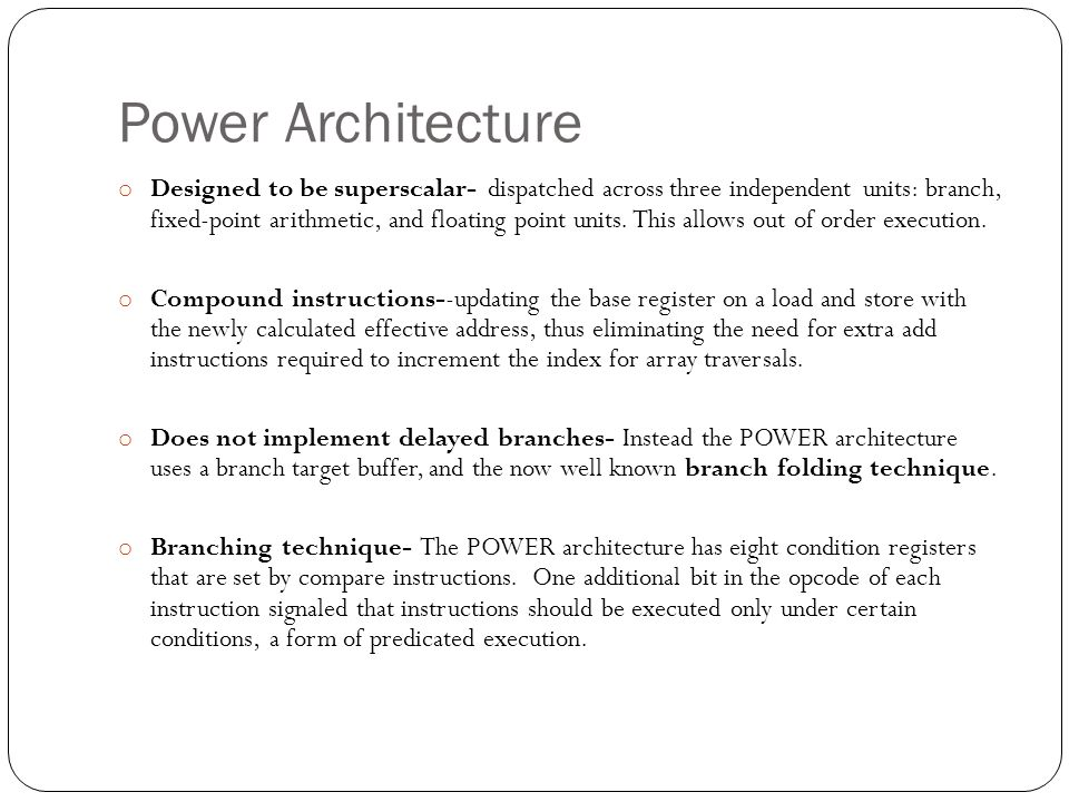 Power Architecture