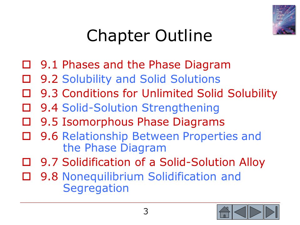Chapter Outline 9.1 Phases and the Phase Diagram