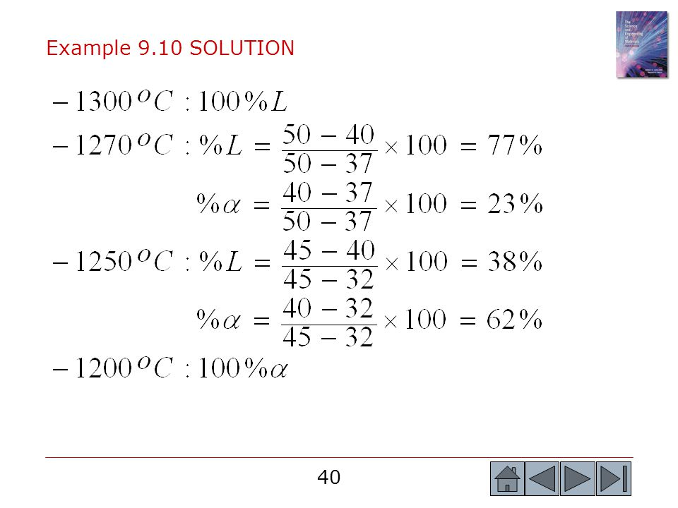 Example 9.10 SOLUTION