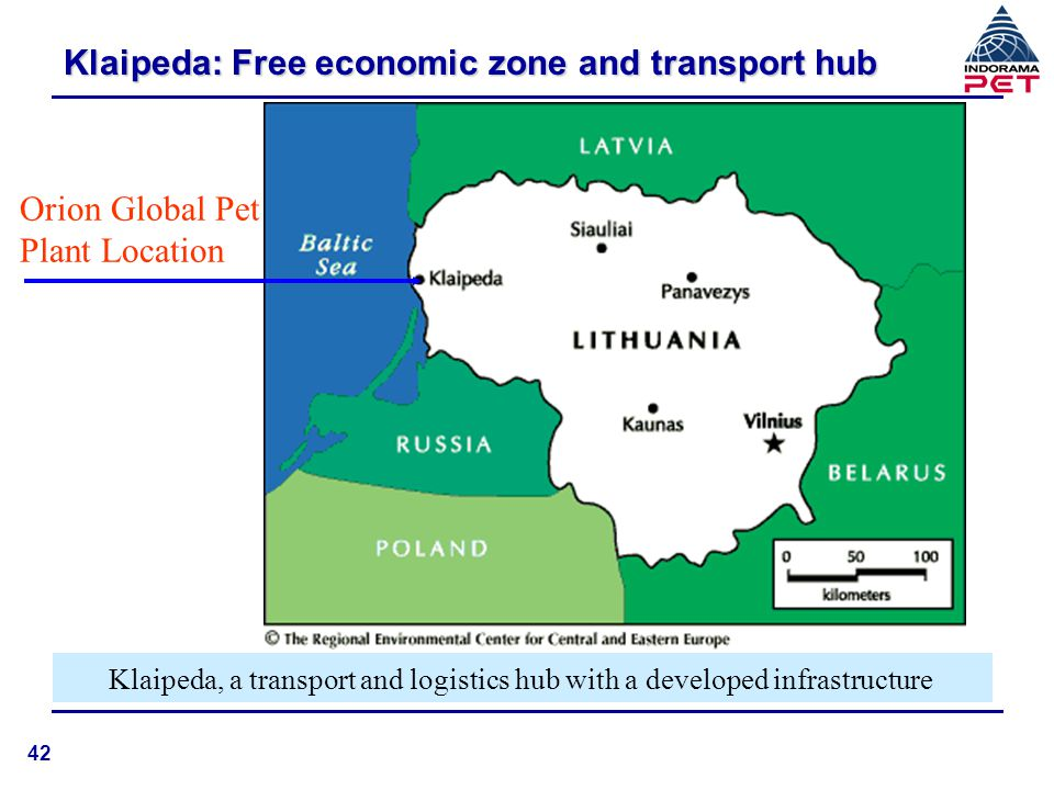 Klaipeda: Free economic zone and transport hub