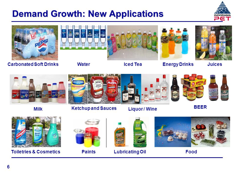 Demand Growth: New Applications