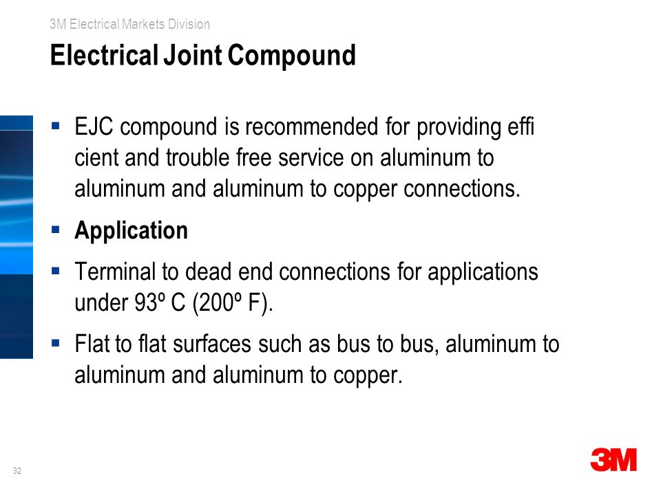 Electrical Joint Compound