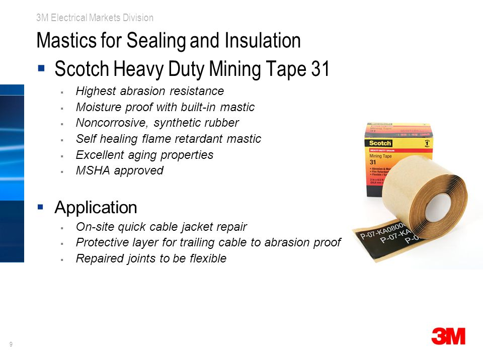 Mastics for Sealing and Insulation