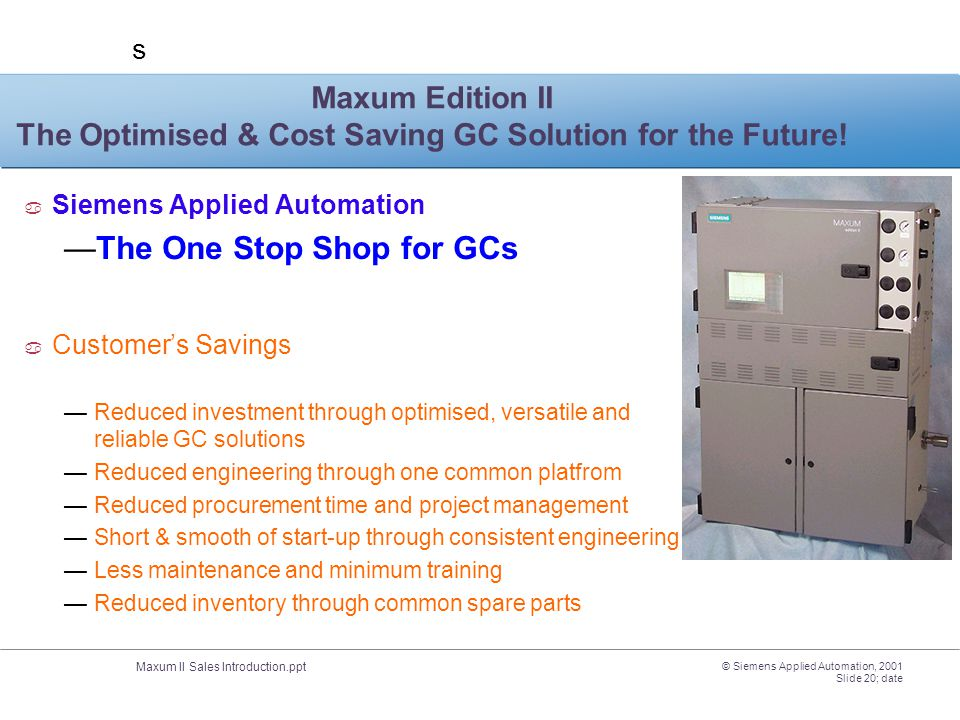The One Stop Shop for GCs