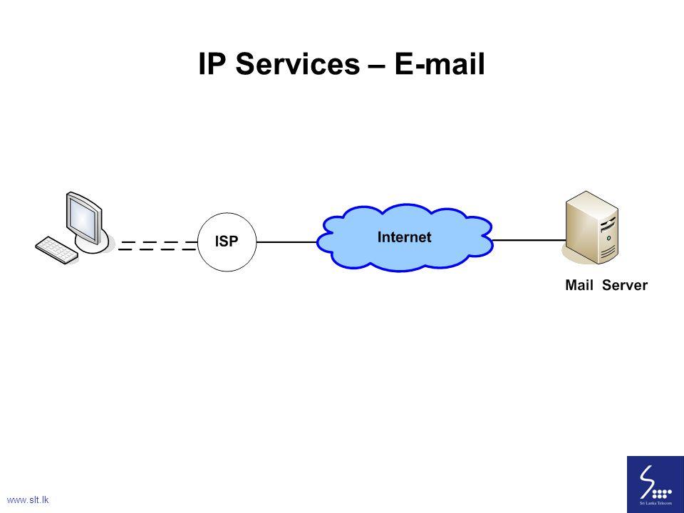 IP Services – E-mail www.slt.lk