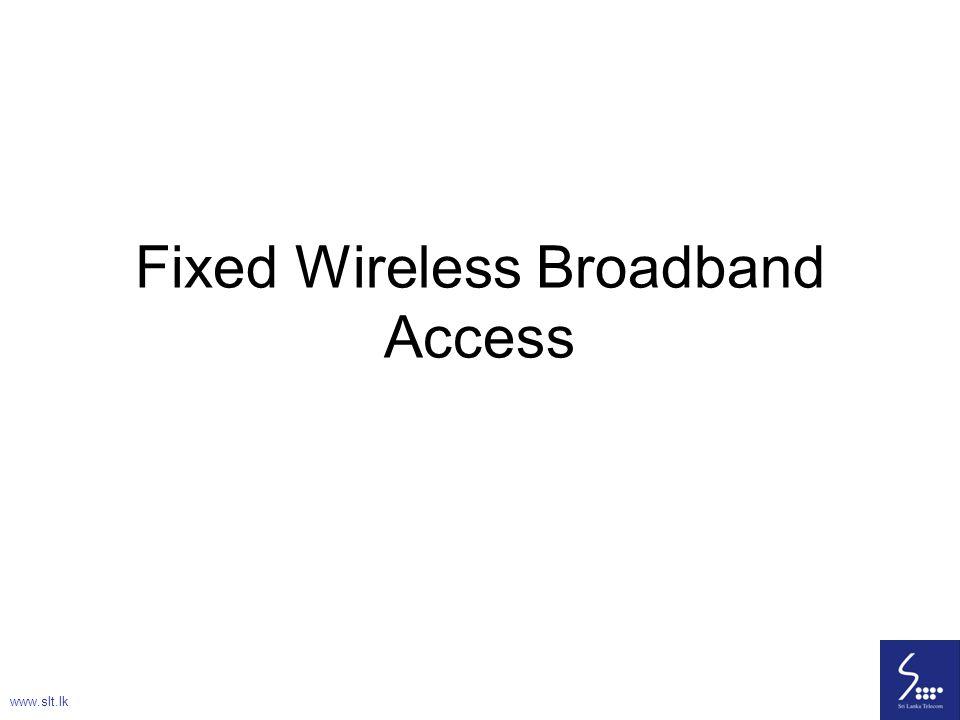 Fixed Wireless Broadband Access