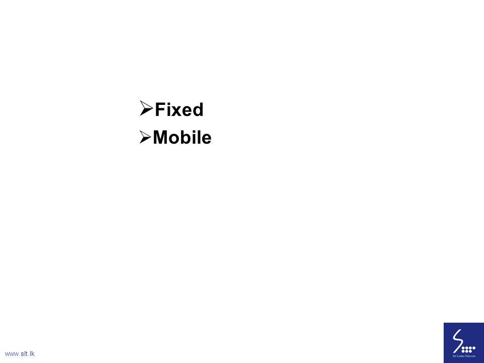 Fixed Mobile www.slt.lk