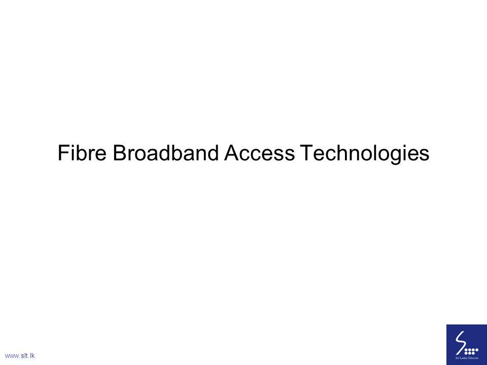 Fibre Broadband Access Technologies