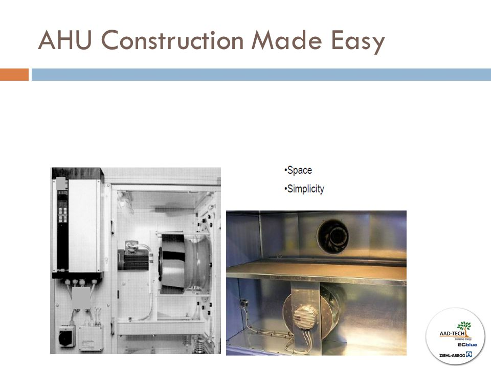 AHU Construction Made Easy