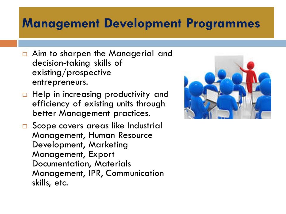 Management Development Programmes