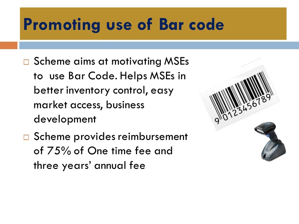Promoting use of Bar code