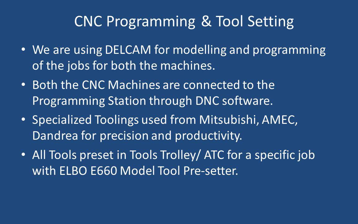 CNC Programming & Tool Setting