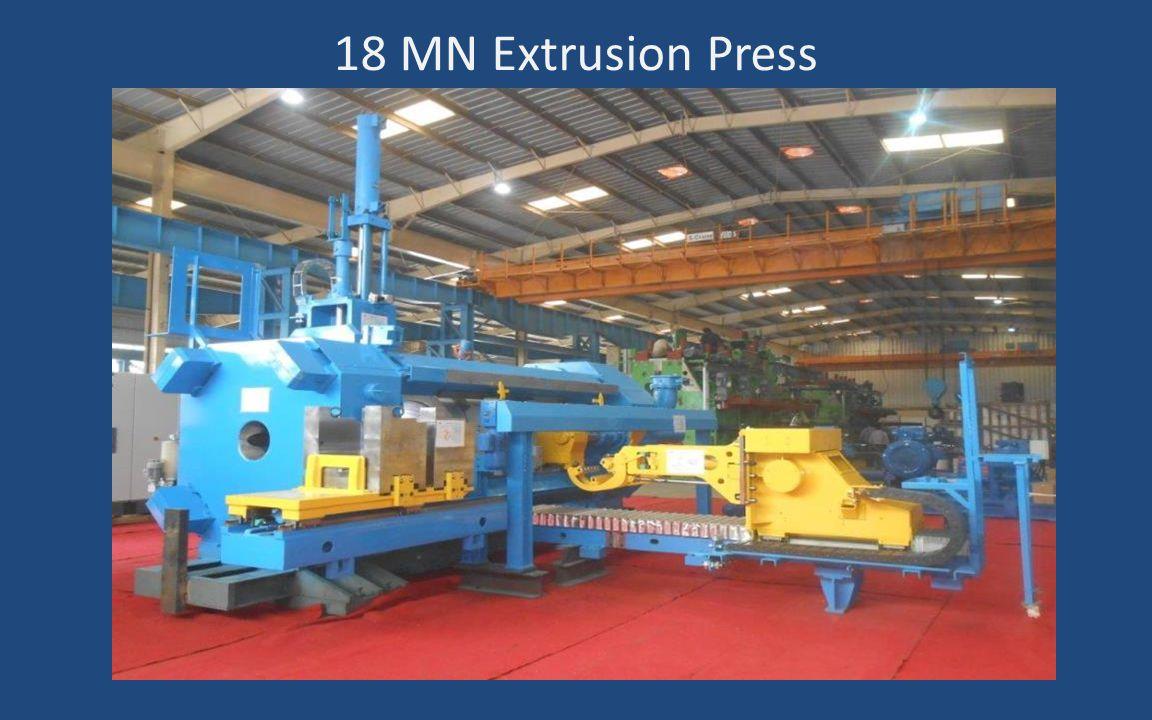 18 MN Extrusion Press