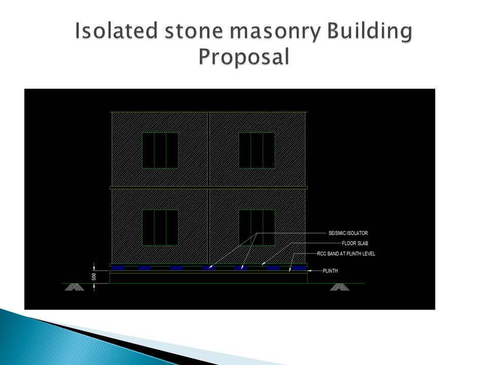 Isolated stone masonry Building Proposal