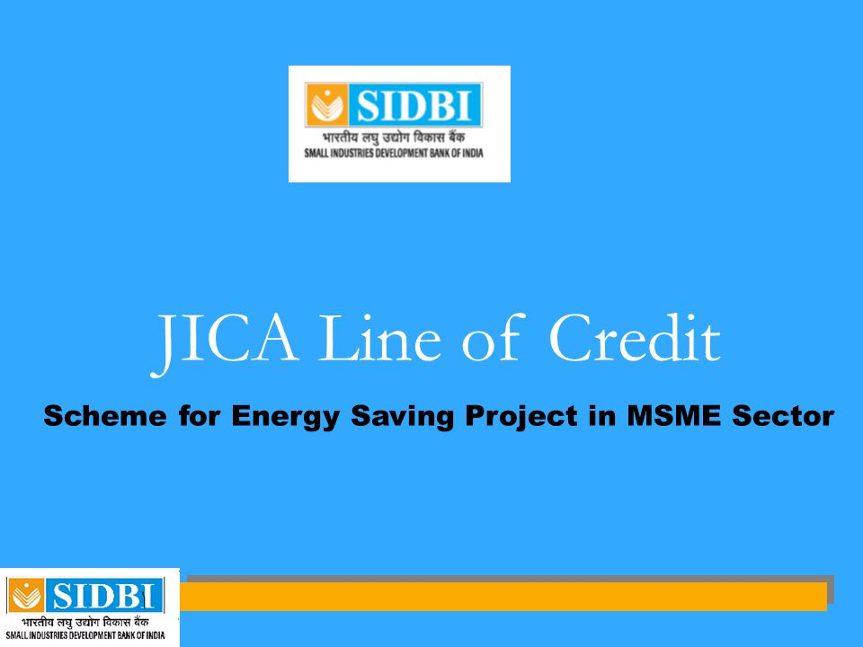 Scheme for Energy Saving Project in MSME Sector