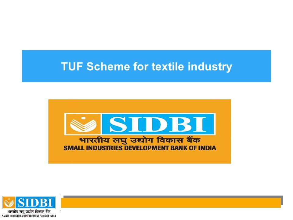 TUF Scheme for textile industry