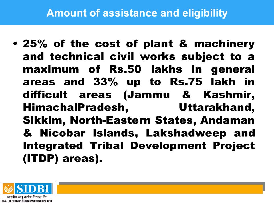 Amount of assistance and eligibility