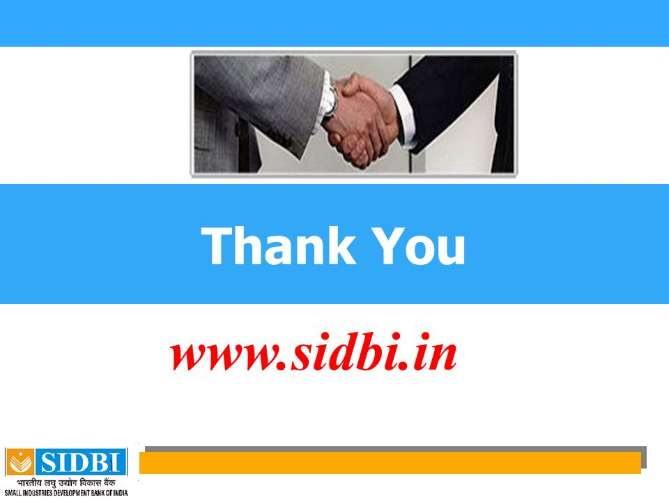 Thank You www.sidbi.in