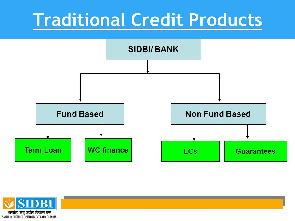 Traditional Credit Products