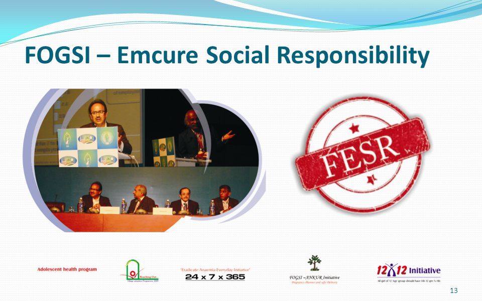 FOGSI – Emcure Social Responsibility