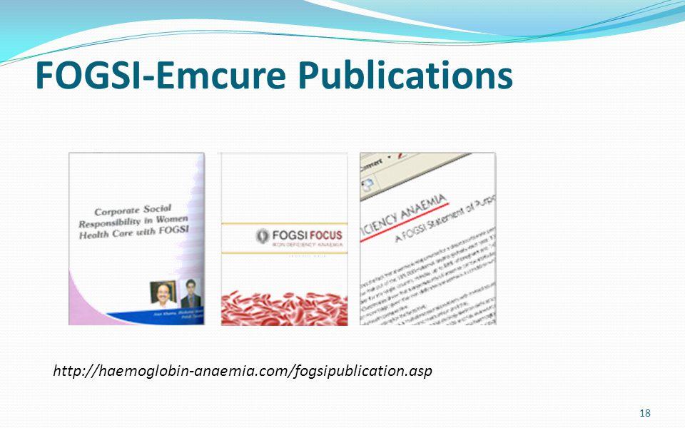FOGSI-Emcure Publications