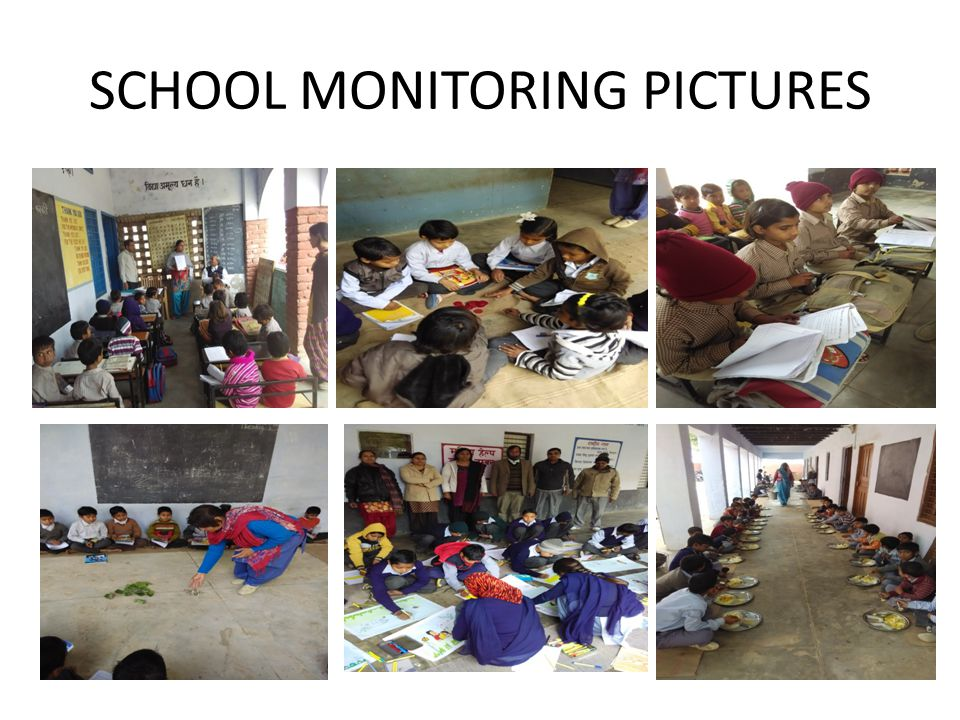 SCHOOL MONITORING PICTURES