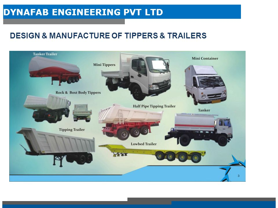 DESIGN & MANUFACTURE OF TIPPERS & TRAILERS