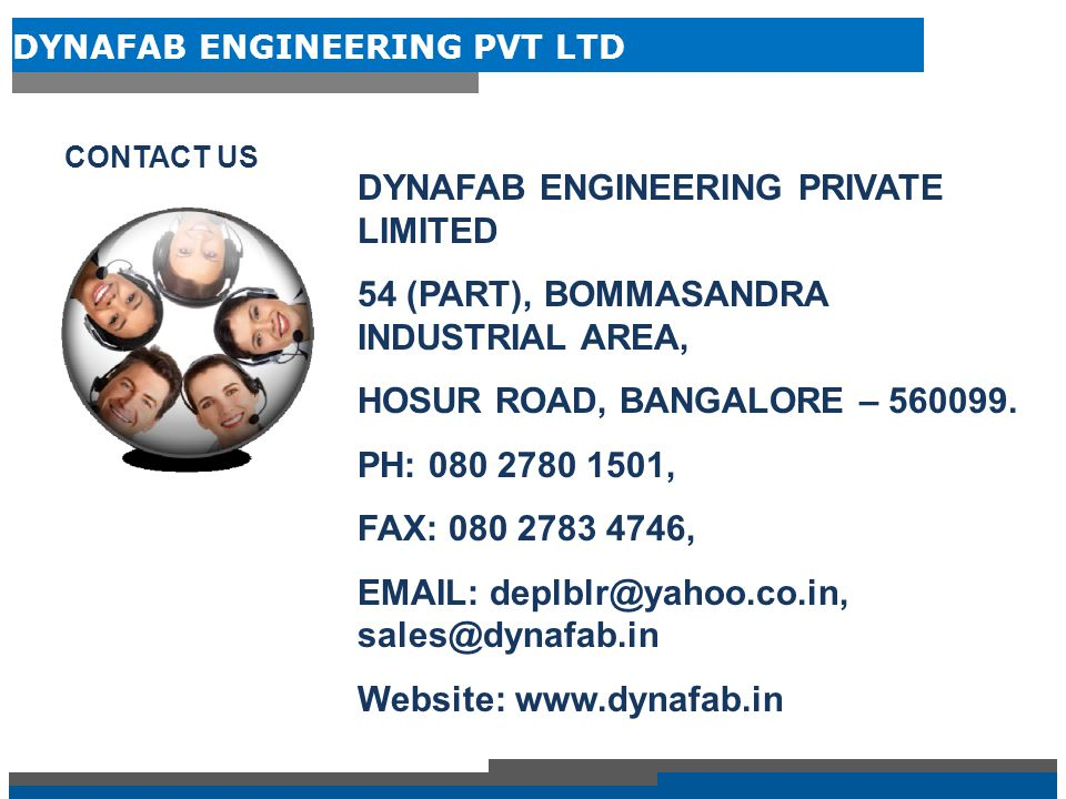 DYNAFAB ENGINEERING PRIVATE LIMITED