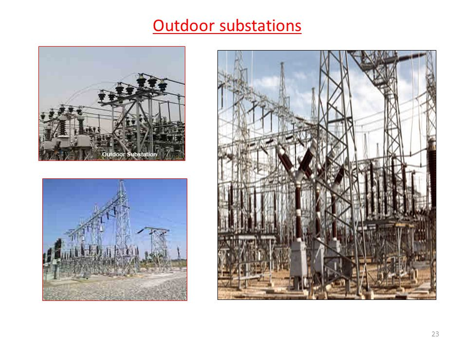 Outdoor substations