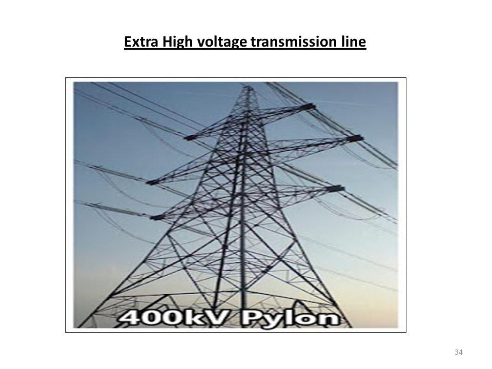 Extra High voltage transmission line