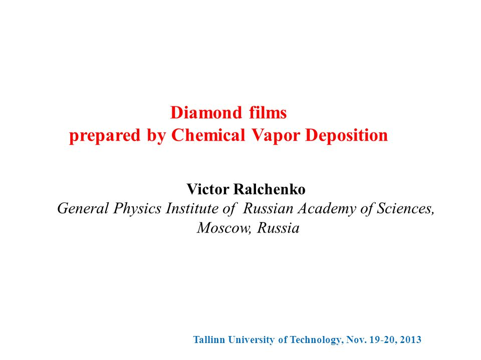 prepared by Chemical Vapor Deposition