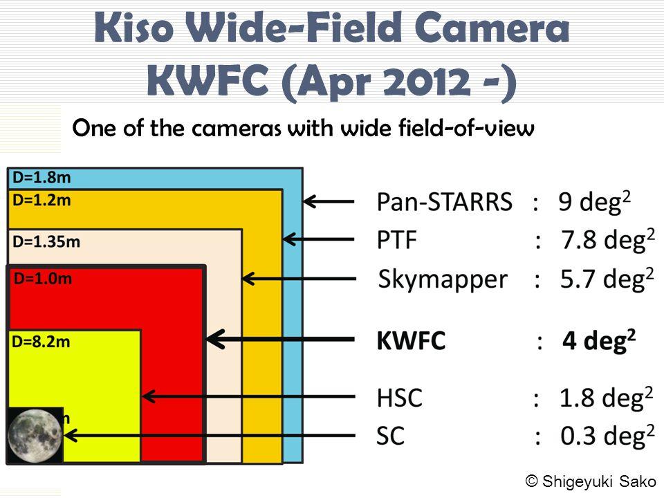 Kiso Wide-Field Camera KWFC (Apr 2012 -)