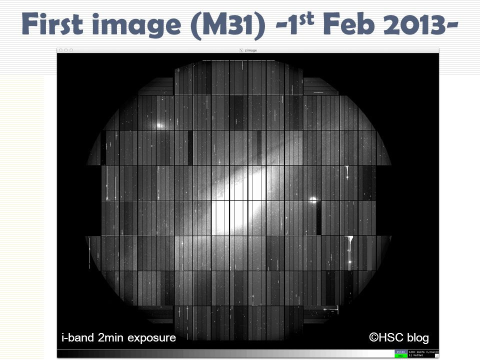 First image (M31) -1st Feb 2013-