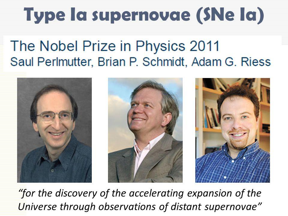 Type Ia supernovae (SNe Ia)