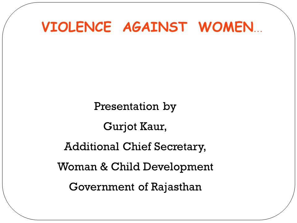VIOLENCE AGAINST WOMEN...