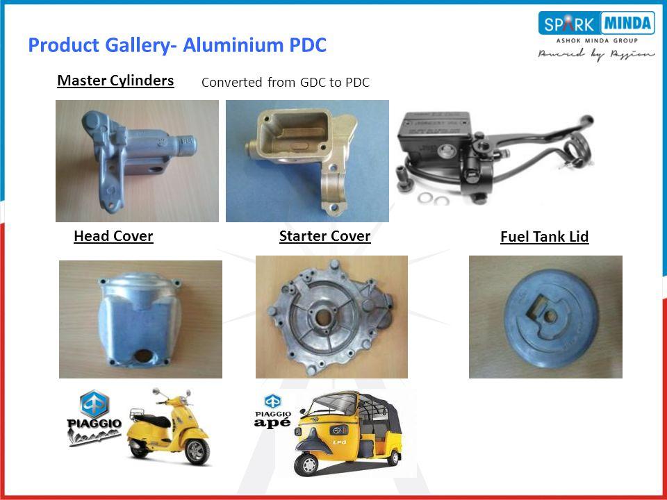 Product Gallery- Aluminium PDC