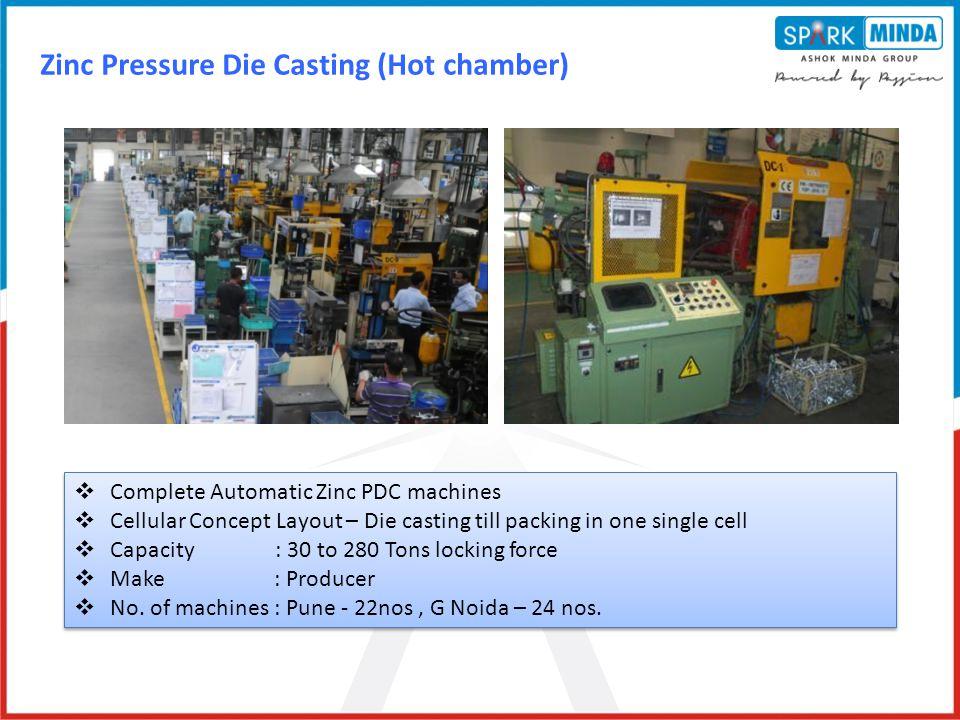 Zinc Pressure Die Casting (Hot chamber)