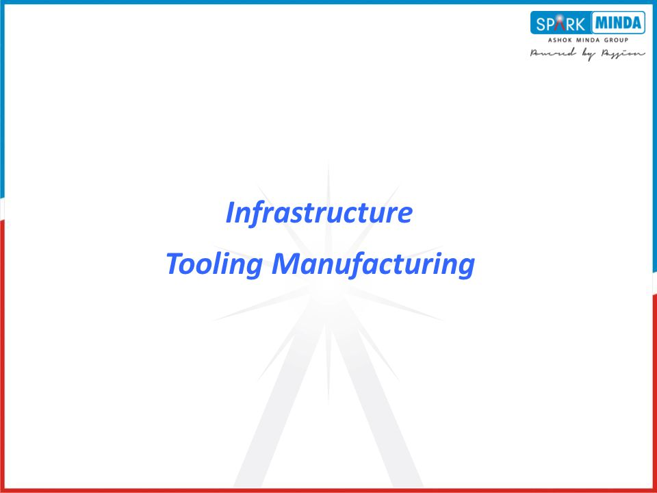 Infrastructure Tooling Manufacturing