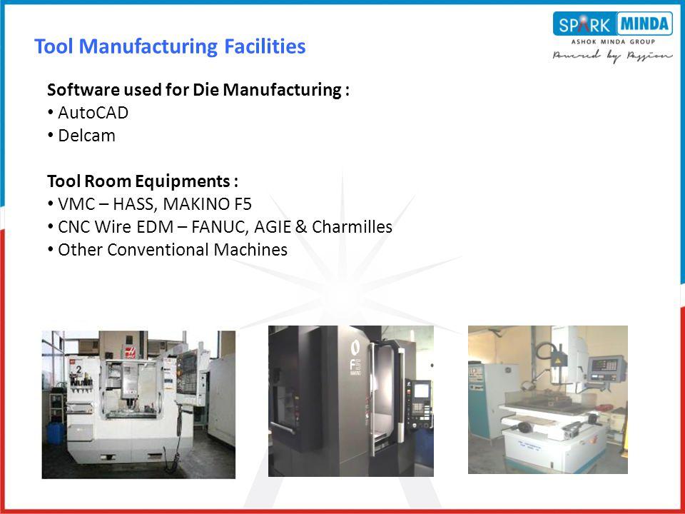 Tool Manufacturing Facilities