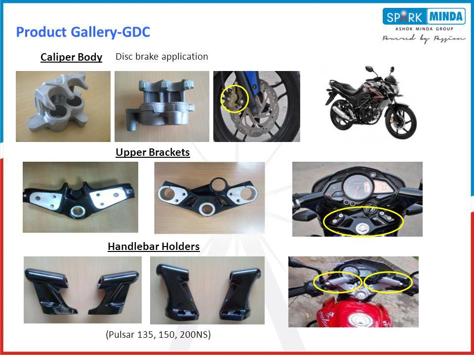 Product Gallery-GDC Caliper Body Upper Brackets Handlebar Holders