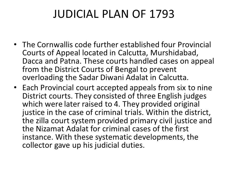 JUDICIAL PLAN OF 1793