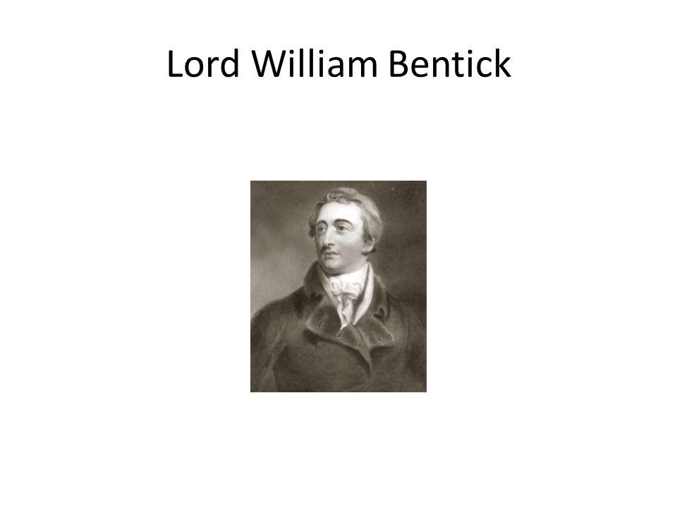 Lord William Bentick