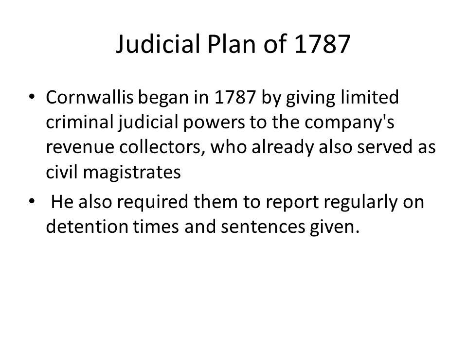 Judicial Plan of 1787