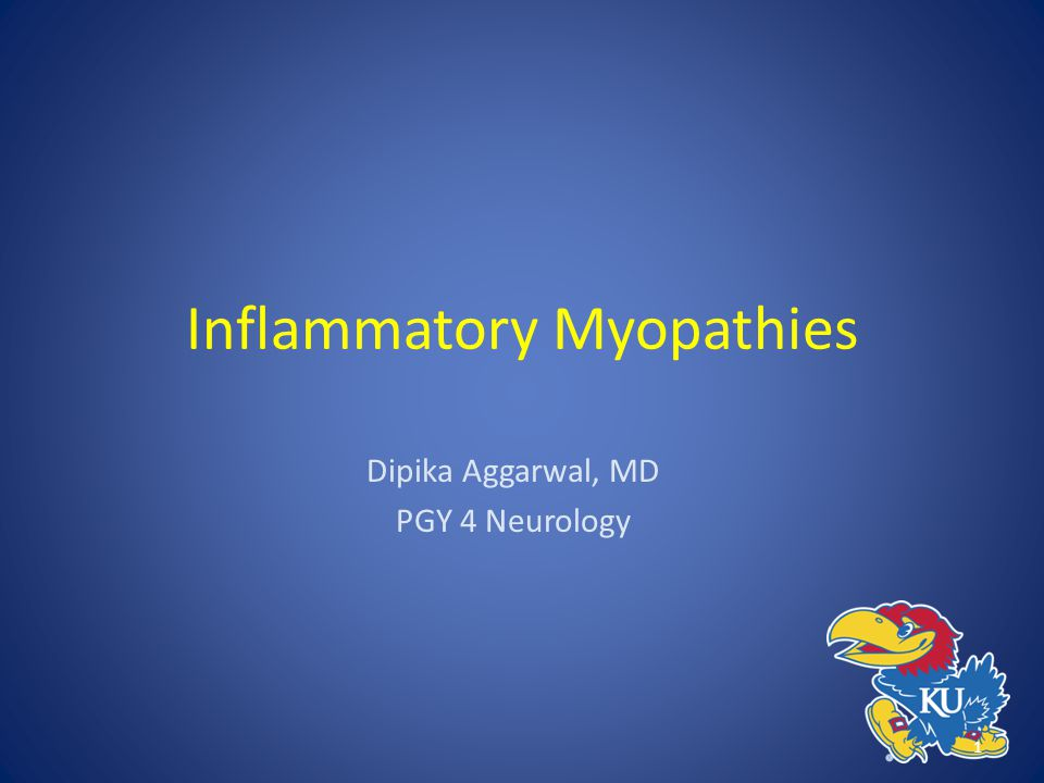 Inflammatory Myopathies