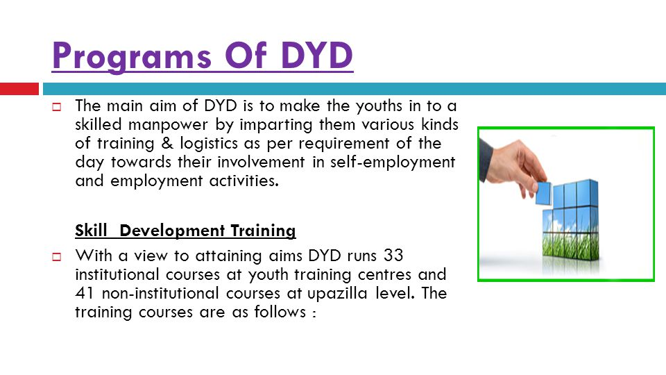 Programs Of DYD