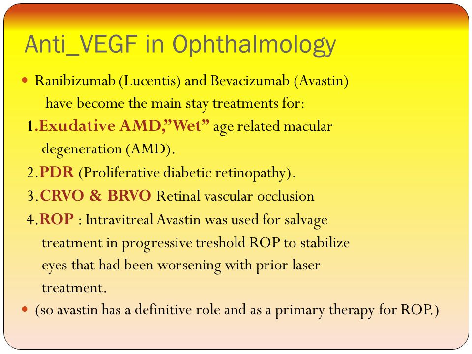 Anti_VEGF in Ophthalmology
