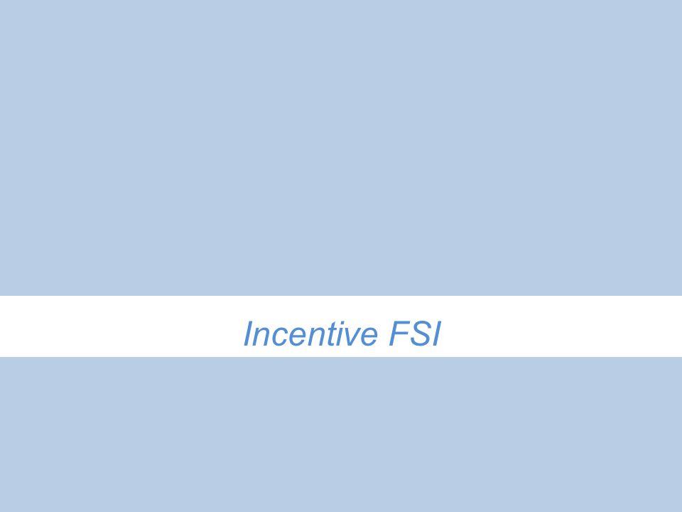 Incentive FSI