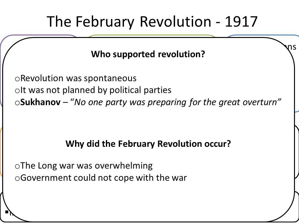 The February Revolution - 1917