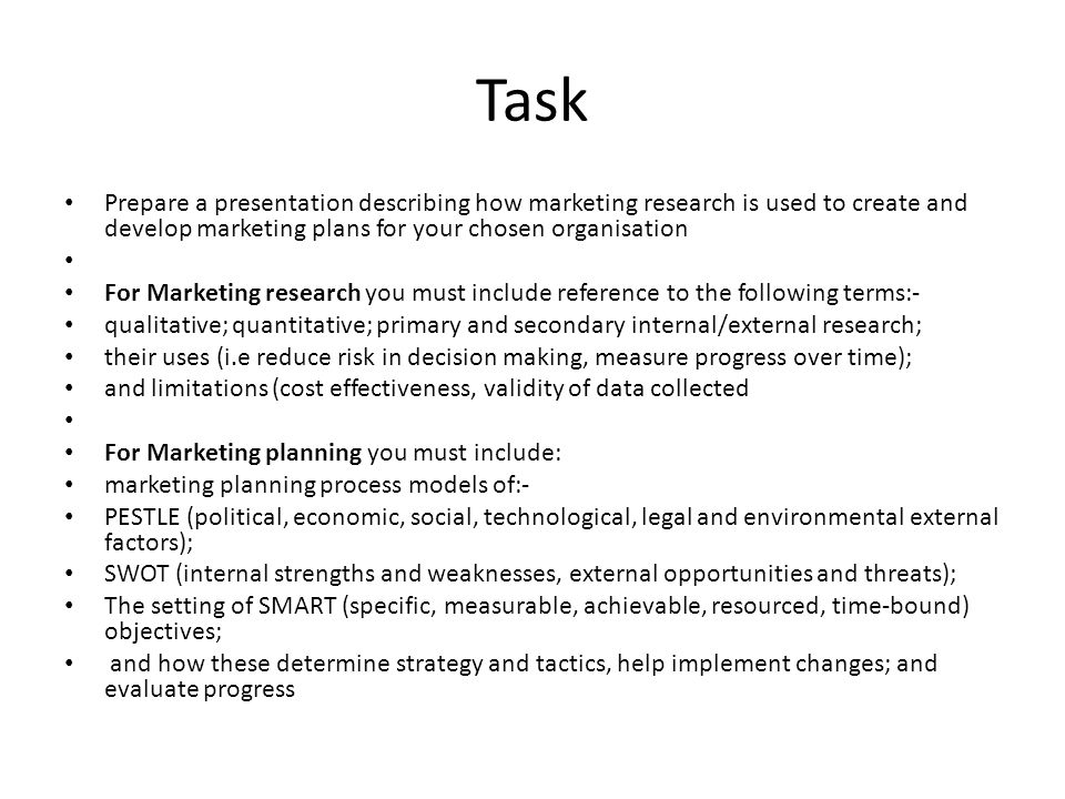 Market Research And Planning  Ppt Video Online Download